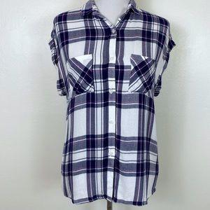 Rails 'Britt' Style Plaid Short Sleeve Shirt